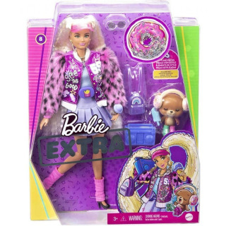 Obrázek 2 produktu Barbie Extra Stylová dlouhovláska Donut, Mattel GYJ77