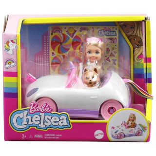 Obrázek 2 produktu Mattel Barbie Chelsea a kabriolet s nálepkami, GXT41