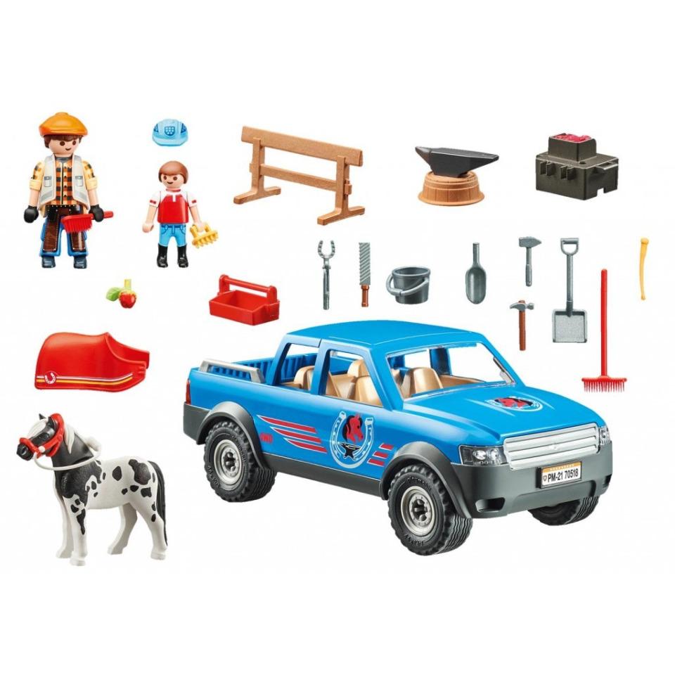 Obrázek 1 produktu Playmobil 70518 Mobilní kovář