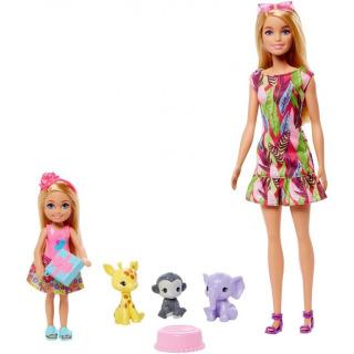 Obrázek 2 produktu Mattel Barbie a Chelsea Ztracené narozeniny se zvířátky, Mattel GTM82