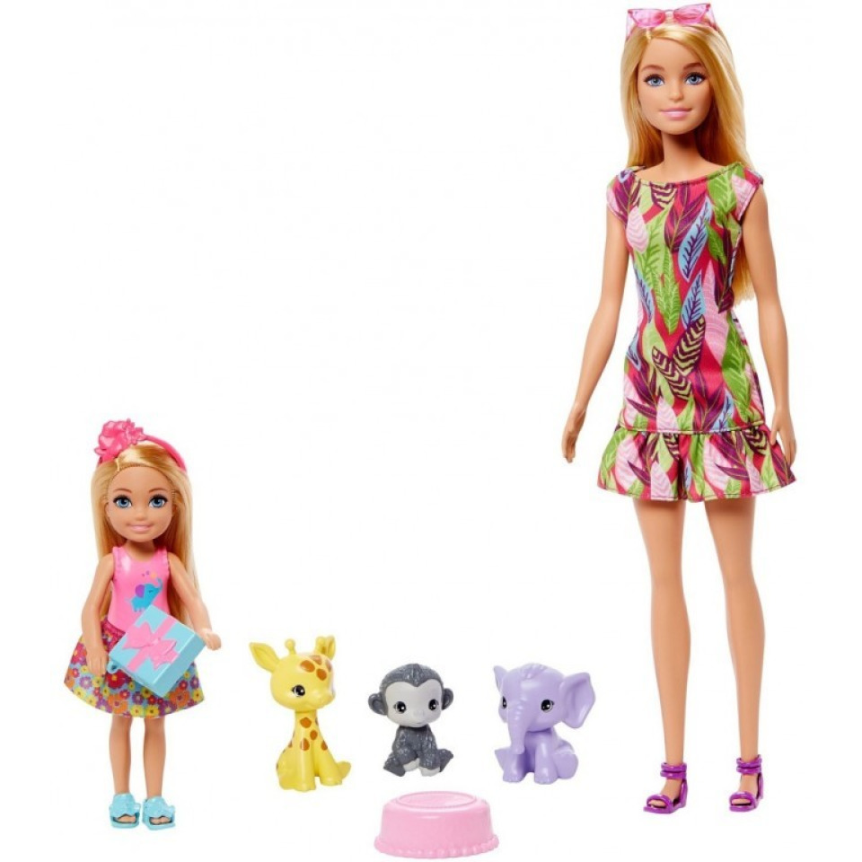 Obrázek 1 produktu Mattel Barbie a Chelsea Ztracené narozeniny se zvířátky, Mattel GTM82