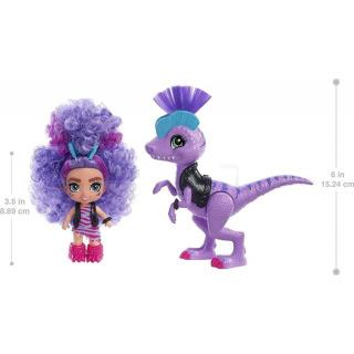 Obrázek 2 produktu Mattel CAVE CLUB Panenka Rebel Tot s dino zvířátkem, GXP24