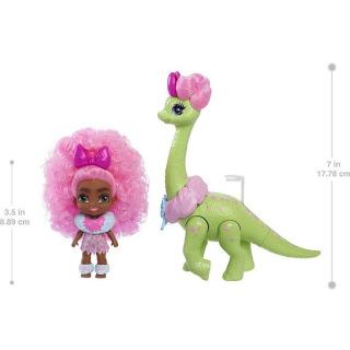 Obrázek 2 produktu Mattel CAVE CLUB Panenka Diva Tot s dino zvířátkem, GXP23