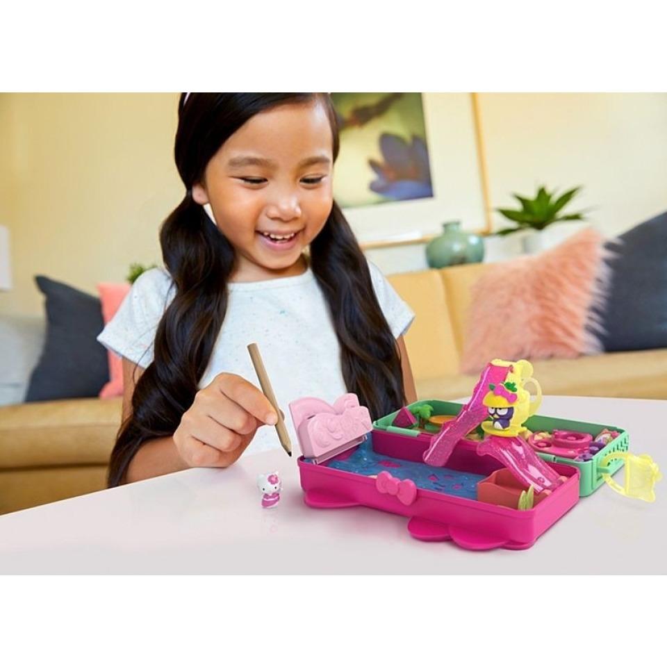 Obrázek 3 produktu Mattel Hello Kitty Penál hrací set Pláž