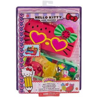 Obrázek 5 produktu Mattel Hello Kitty Penál hrací set Pláž