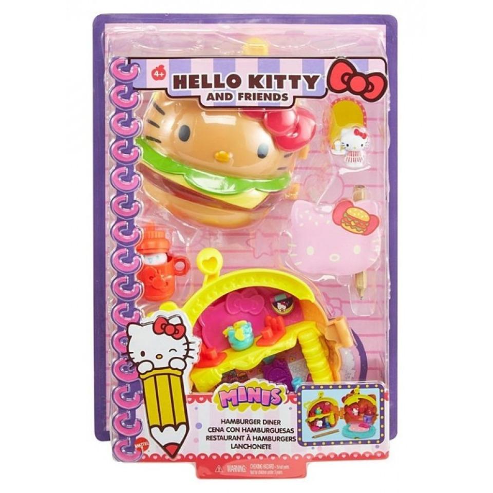 Obrázek 4 produktu Mattel Hello Kitty herní set Hamburger