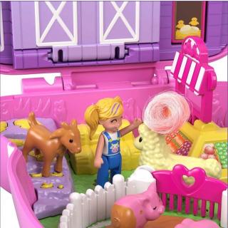 Obrázek 3 produktu Polly Pocket Pidi svět do kapsy Farma, Mattel GTN16