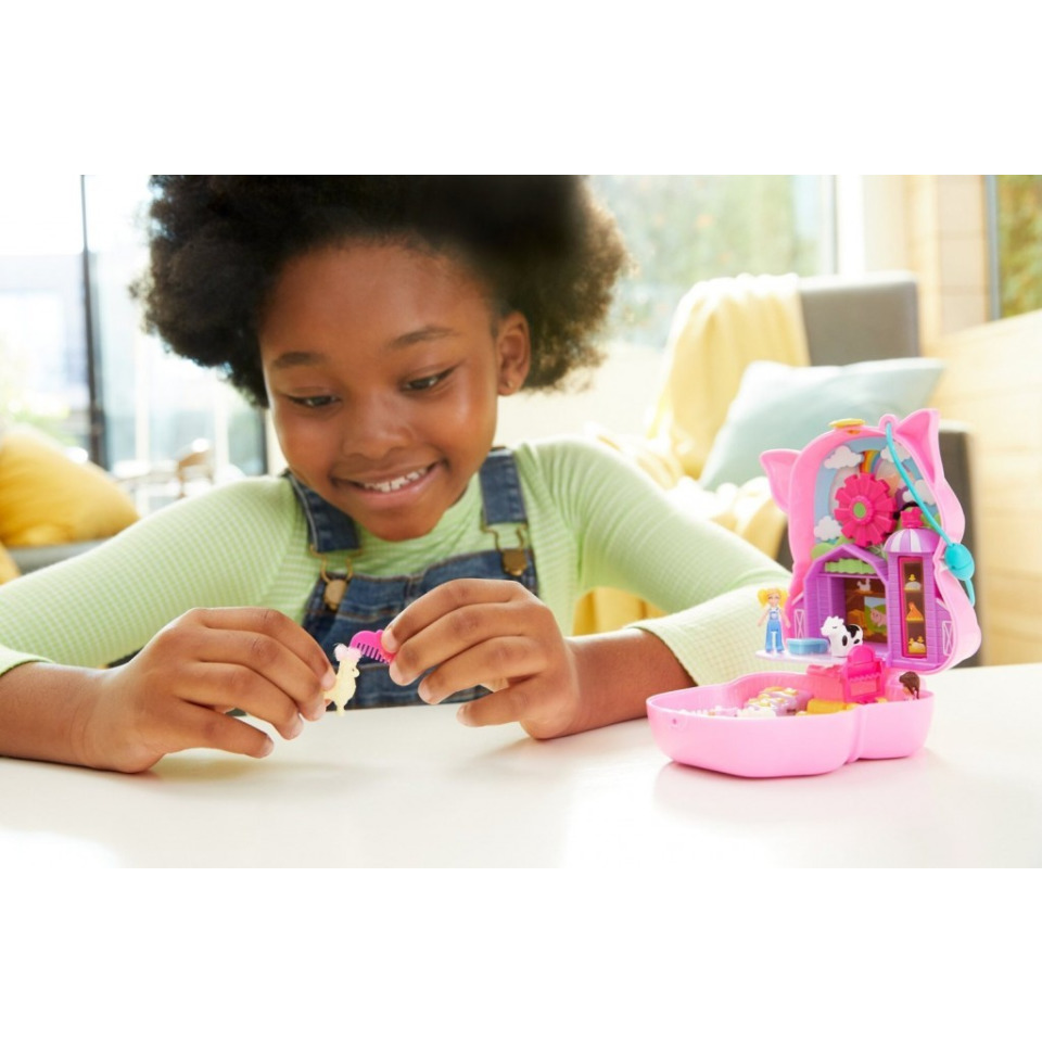 Obrázek 4 produktu Polly Pocket Pidi svět do kapsy Farma, Mattel GTN16