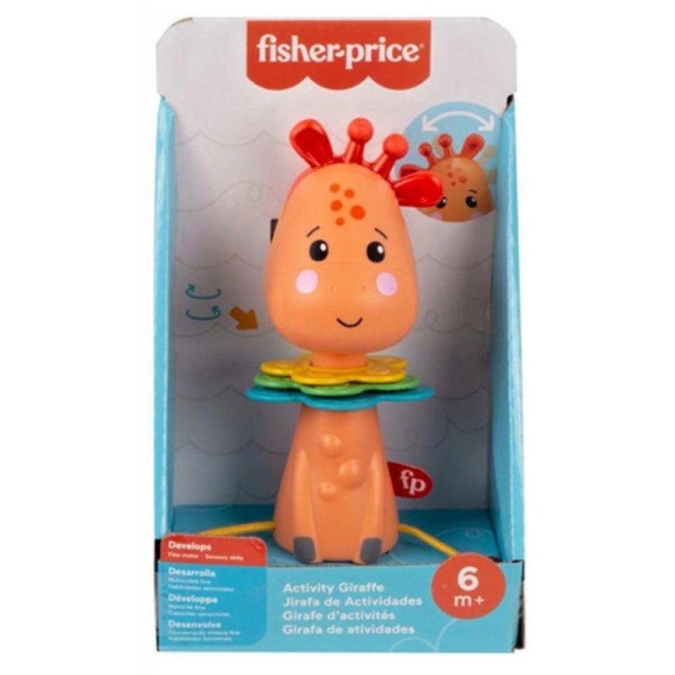 Obrázek 1 produktu Fisher Price Activity žirafa, Mattel GWL65