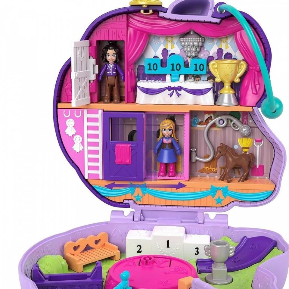 Obrázek 1 produktu Polly Pocket Pidi svět do kapsy Parkur, Mattel GTN14