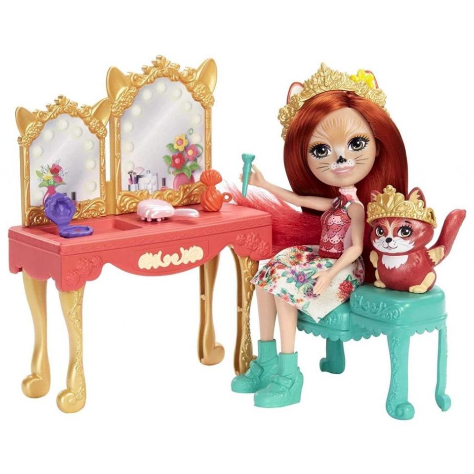 Obrázek 2 produktu ENCHANTIMALS ROYAL Toaletní stolek Felicity Fox, Mattel GYJ05