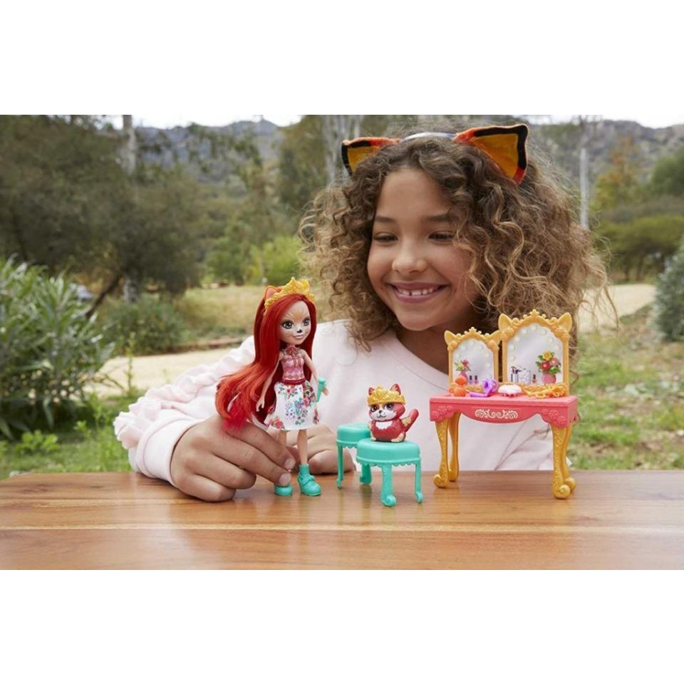 Obrázek 4 produktu ENCHANTIMALS ROYAL Toaletní stolek Felicity Fox, Mattel GYJ05