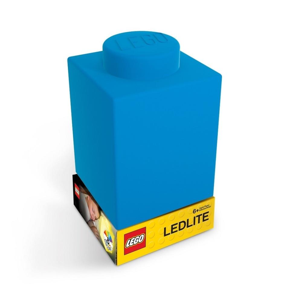 Obrázek 1 produktu LEGO Classic Silikonová kostka noční světlo - modrá