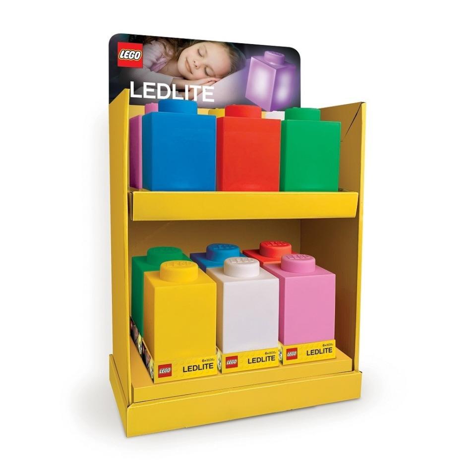 Obrázek 2 produktu LEGO Classic Silikonová kostka noční světlo - modrá