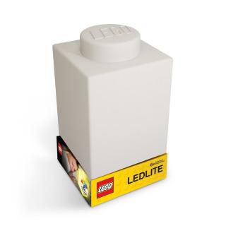 Obrázek 2 produktu LEGO Classic Silikonová kostka noční světlo - bílá