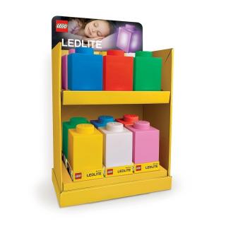Obrázek 3 produktu LEGO Classic Silikonová kostka noční světlo - bílá