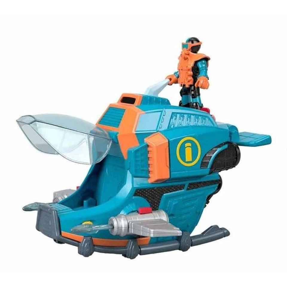 Obrázek 3 produktu Fisher Price Imaginext Ponorka a žralok kladivoun, Mattel GKG80