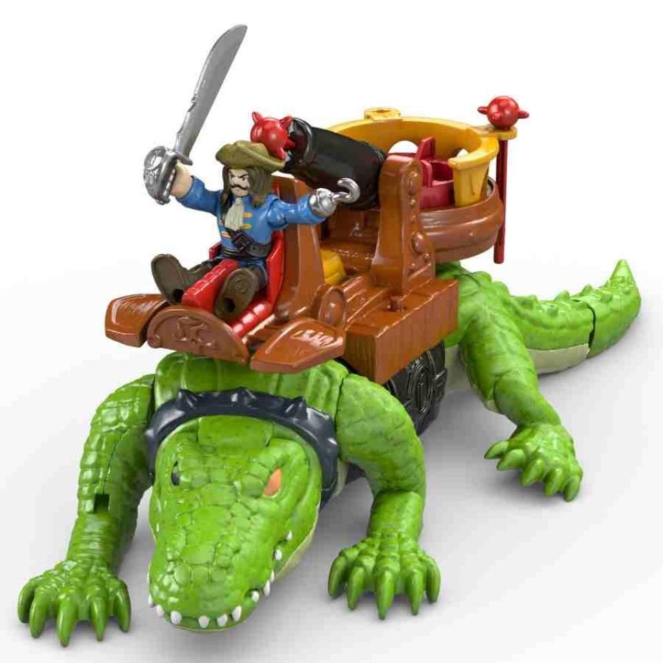 Obrázek 2 produktu Fisher Price Imaginext Kráčející krokodýl a Kapitán Hook, Mattel GHH63