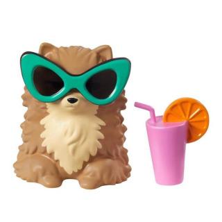 Obrázek 4 produktu Barbie Extra Stylová dlouhovláska se zeleným boa a mazlíčkem, Mattel GXF10