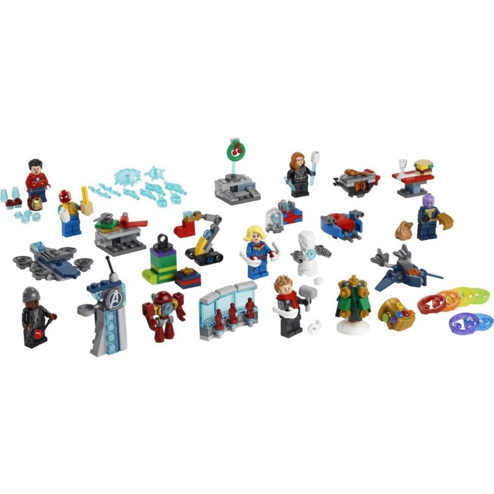 Obrázek 1 produktu LEGO Marvel 76196 Adventní kalendář Avengers