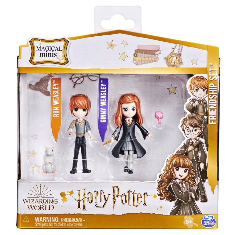 Obrázek 1 produktu Spin Master Harry Potter Trojbalení přátel RON, GINNY, ARNOLD A PRAŠIVKA