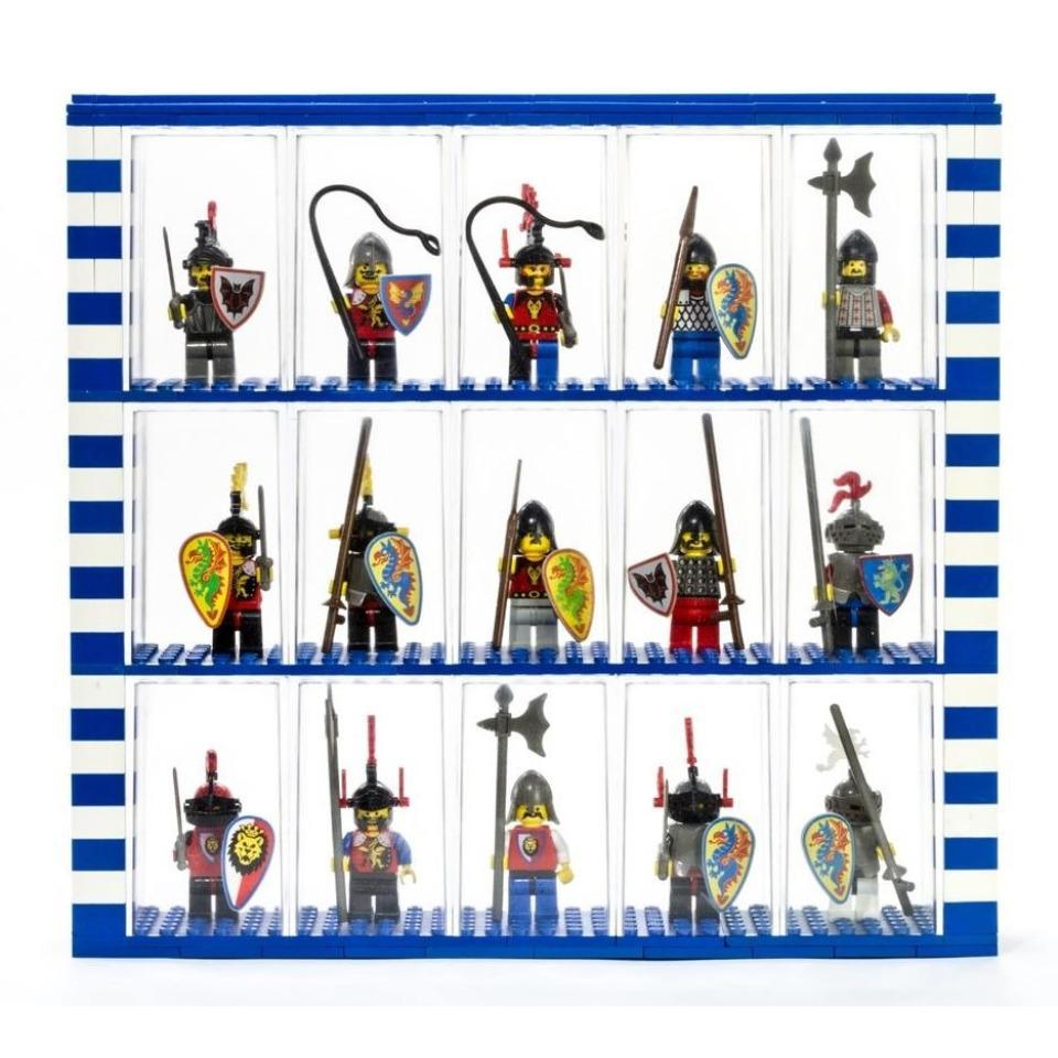 Obrázek 3 produktu Fabiox Sběratelský box na LEGO minifigurky - 6x6 - 4ks