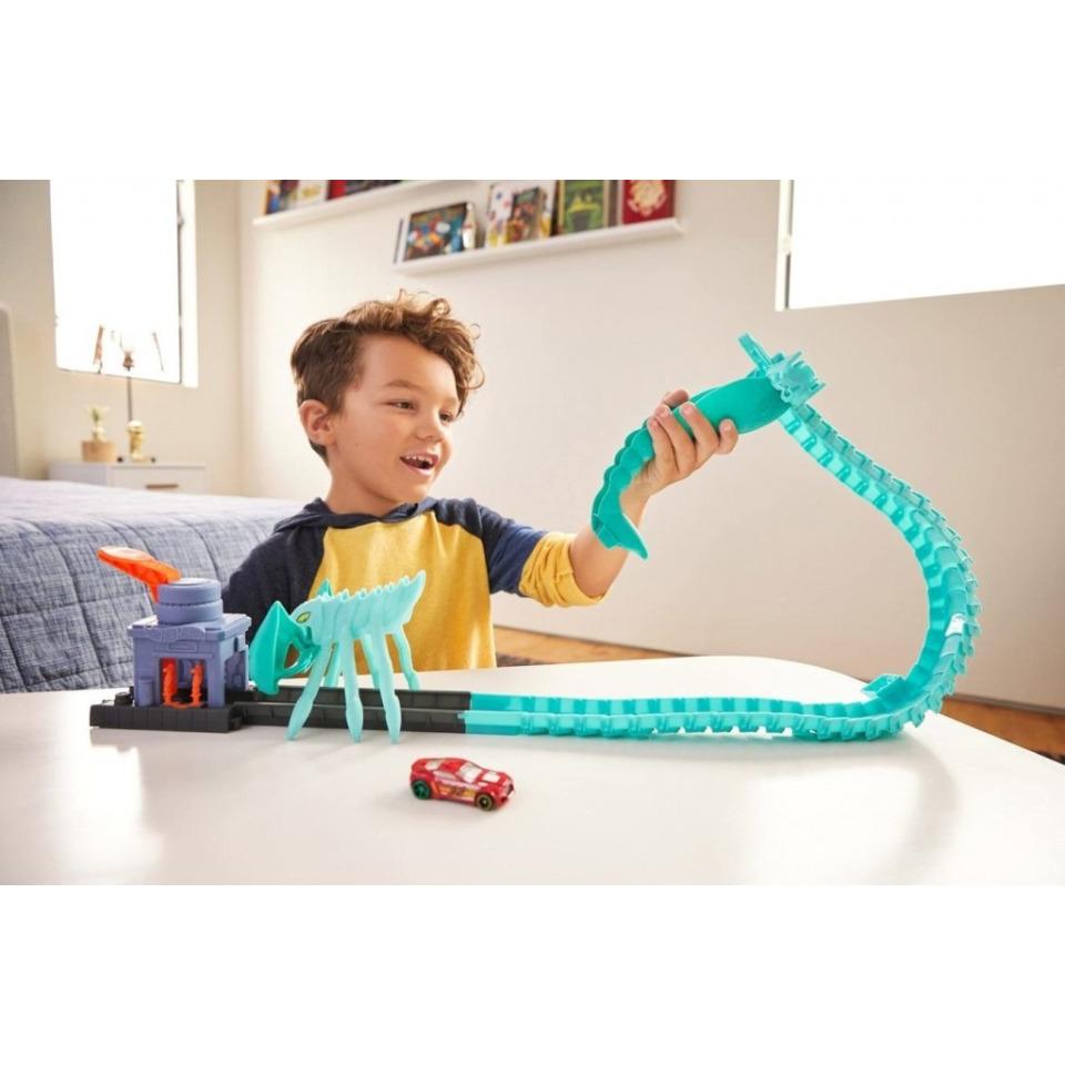 Obrázek 3 produktu Hot Wheels City Utkej se s příšerou Útok toxického škorpiona, Mattel GTT67