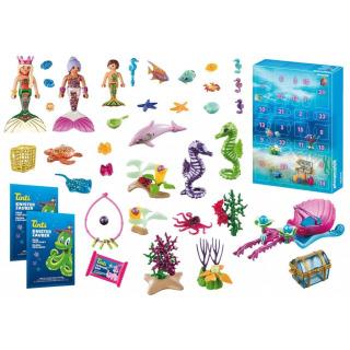 Obrázek 2 produktu Playmobil 70777 Adventní kalendář Zábava ve vodě - Mořské panny