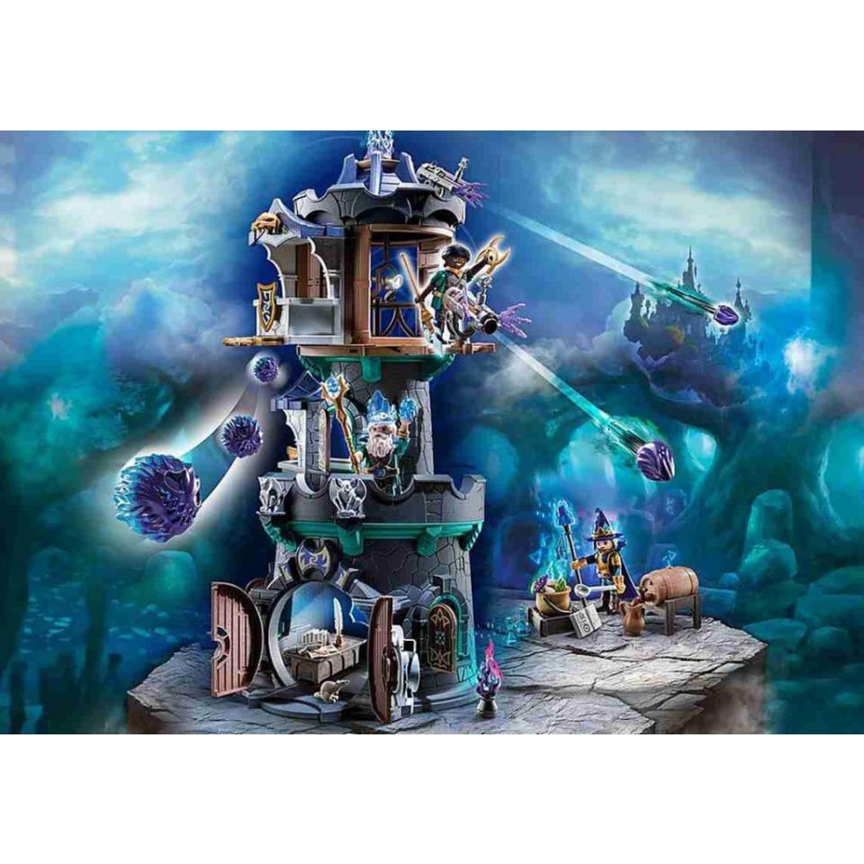 Obrázek 1 produktu Playmobil 70745 Novelmore violet Vale Čarodějova věž