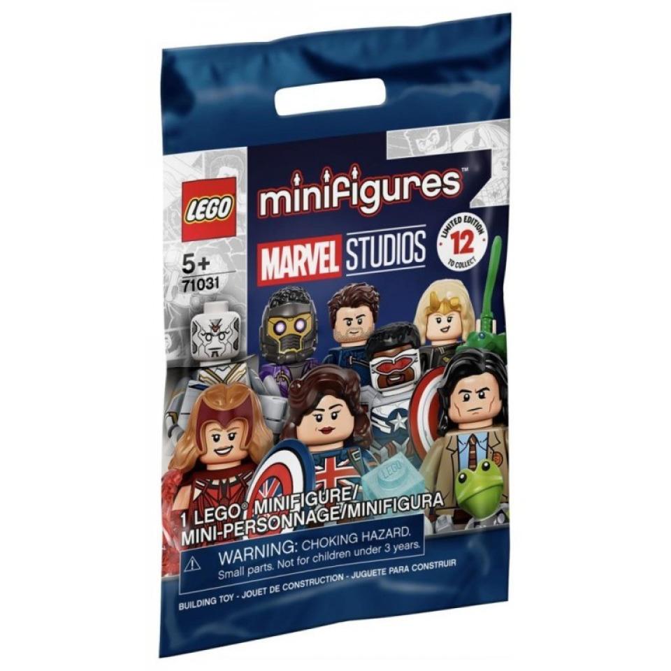Obrázek 1 produktu LEGO 71031 Minifigurka Studio Marvel Captain Carter