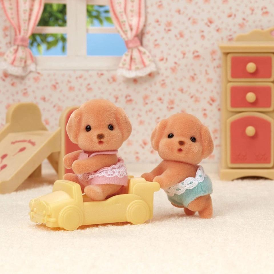 Obrázek 2 produktu Sylvanian Families 5425 Baby dvojčata Pudlíci