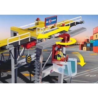 Obrázek 3 produktu Playmobil 70770 Portálový jeřáb s kontejnery