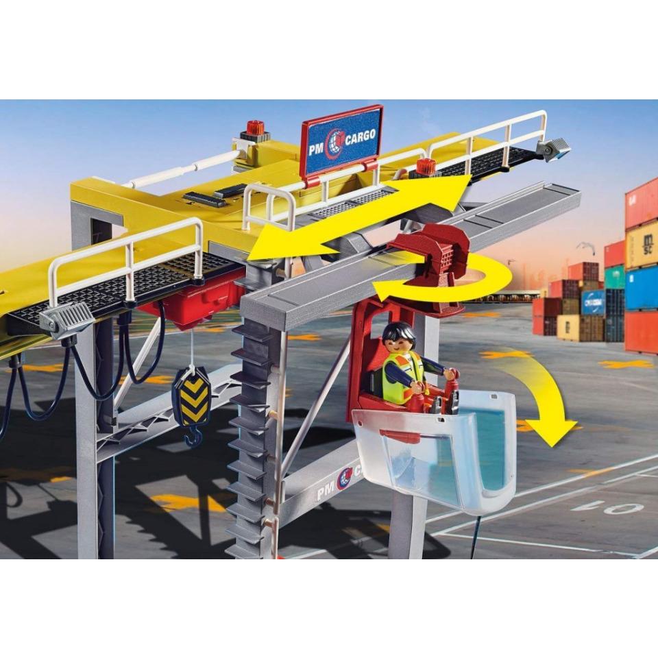Obrázek 2 produktu Playmobil 70770 Portálový jeřáb s kontejnery