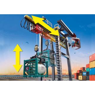 Obrázek 5 produktu Playmobil 70770 Portálový jeřáb s kontejnery