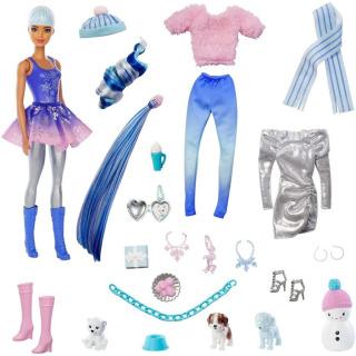 Obrázek 2 produktu Mattel Adventní kalendář Barbie Color Reveal, HBT74