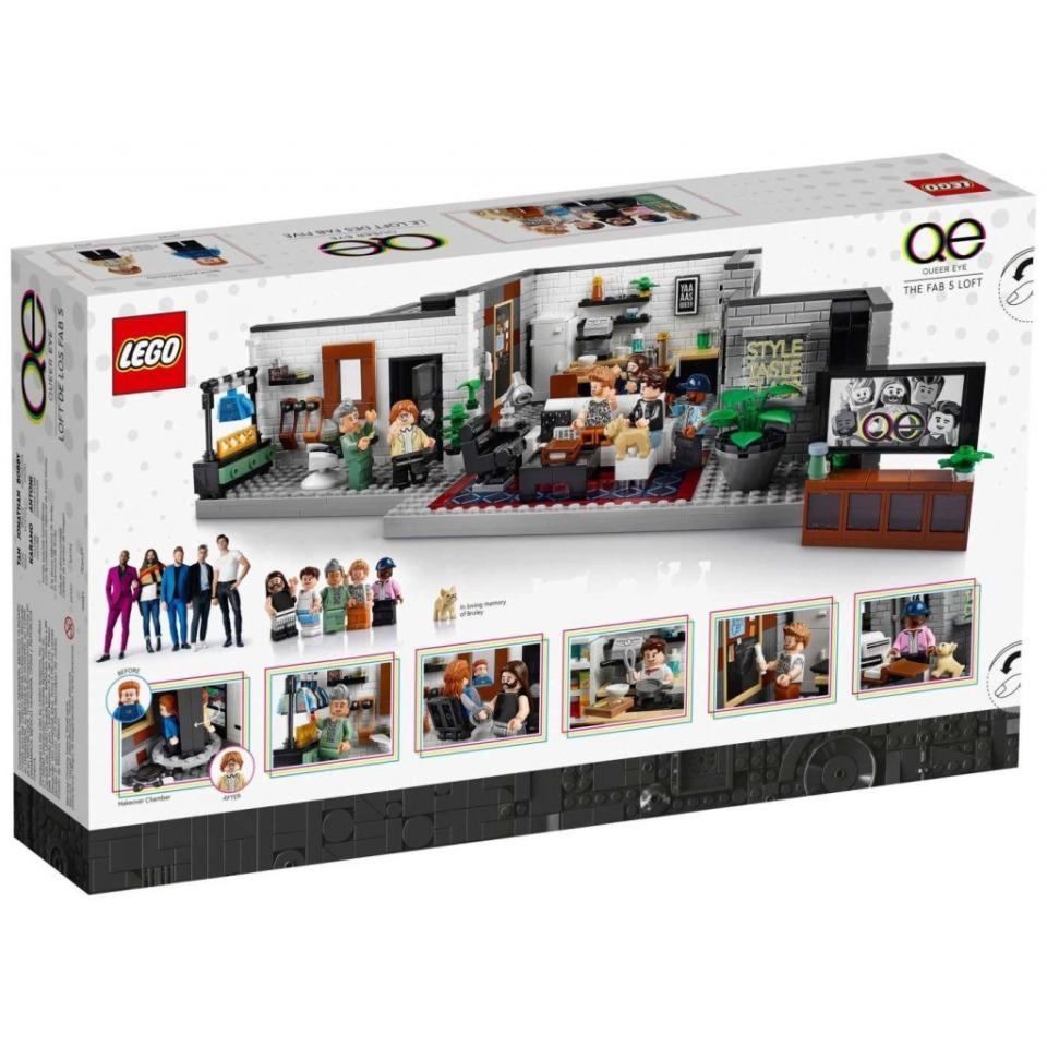 """Obrázek 4 produktu LEGO Creator Expert 10291 Queer tým – byt """"Úžo Pětky"""""""