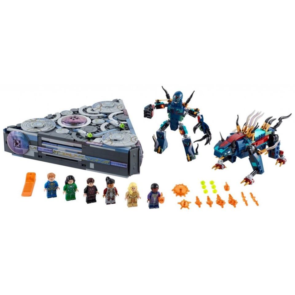 Obrázek 1 produktu LEGO Super Heroes 76156 Vzestup Doma