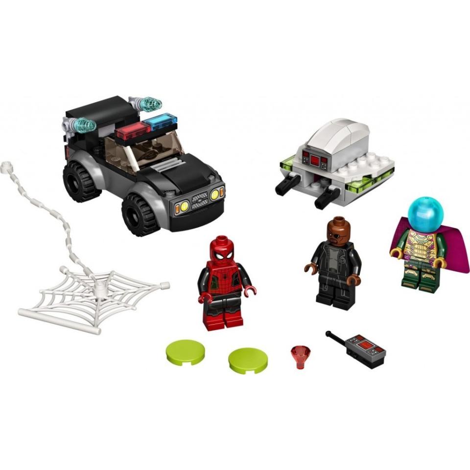 Obrázek 1 produktu LEGO Super Heroes 76184 Spider-Man a Mysteriův útok dronem
