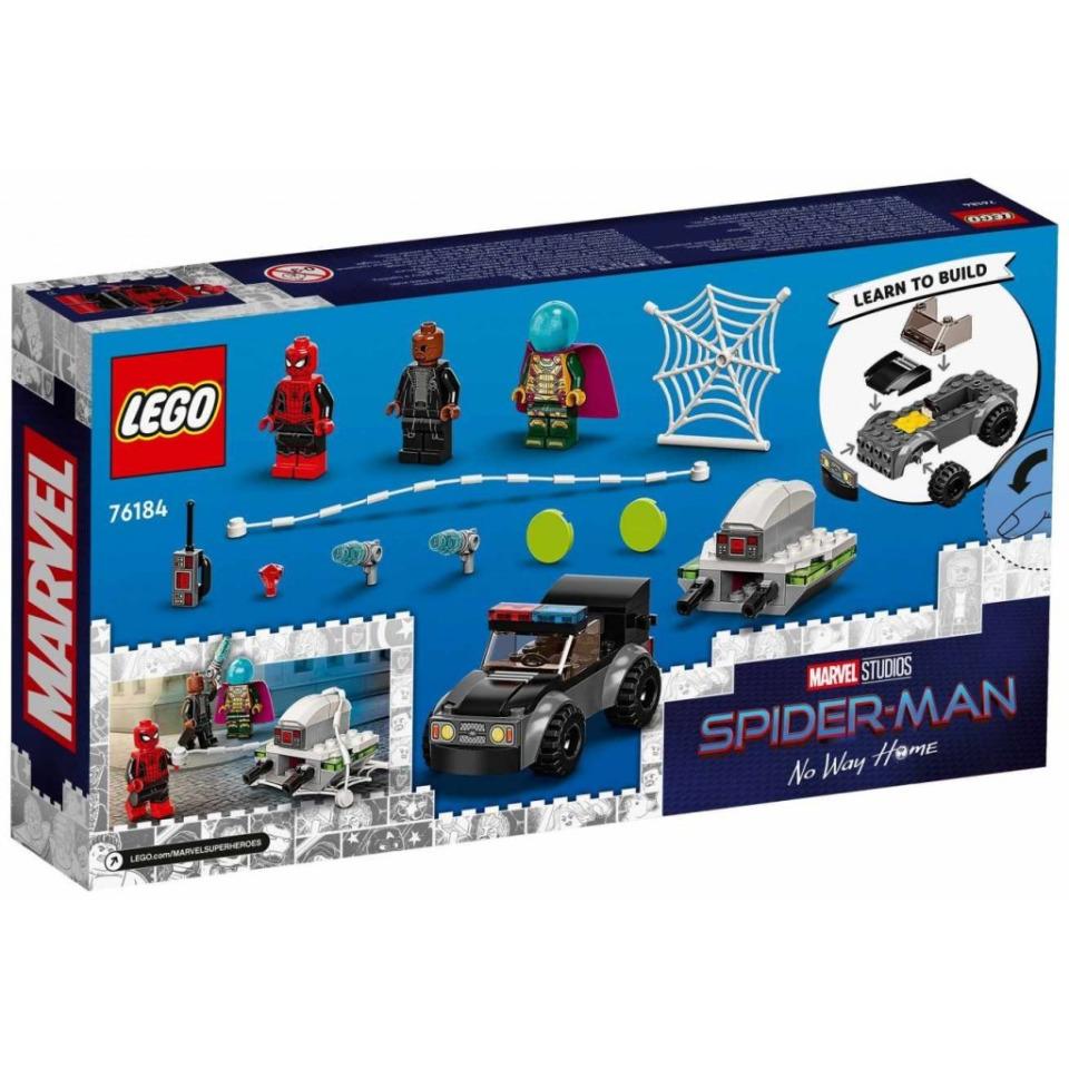 Obrázek 2 produktu LEGO Super Heroes 76184 Spider-Man a Mysteriův útok dronem