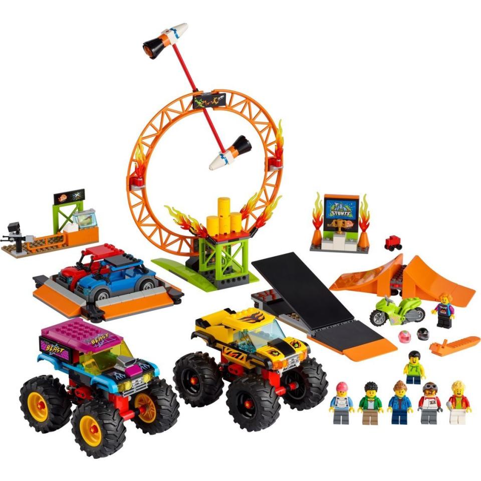 Obrázek 1 produktu LEGO CITY 60295 Kaskadérská aréna
