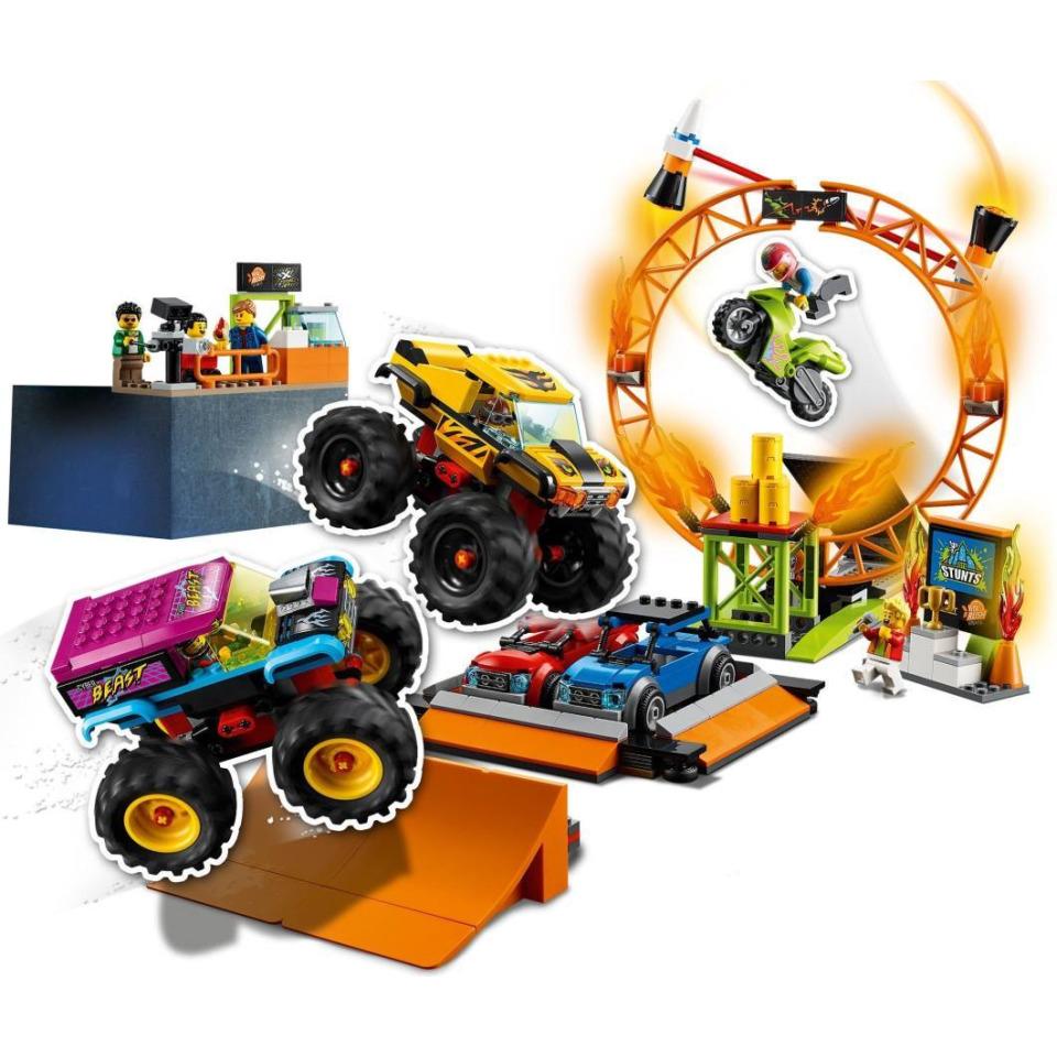 Obrázek 2 produktu LEGO CITY 60295 Kaskadérská aréna