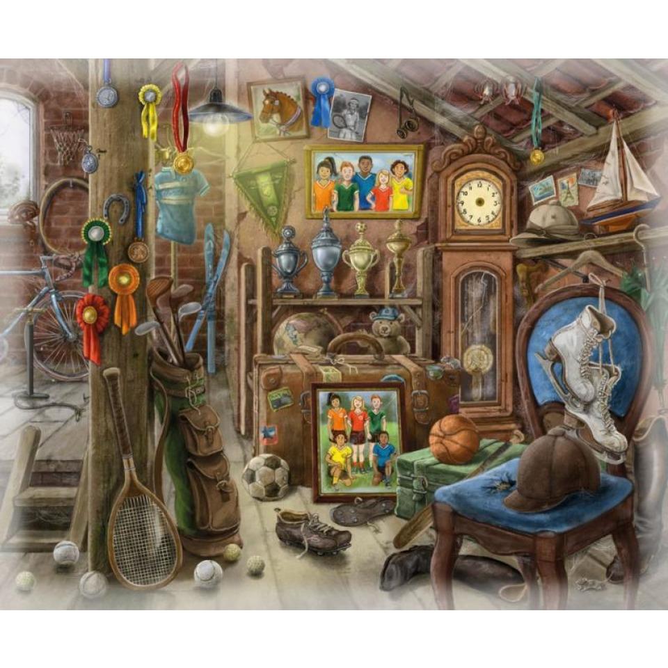 Obrázek 1 produktu Ravensburger 16880 Exit Puzzle: Podkroví 99 dílků