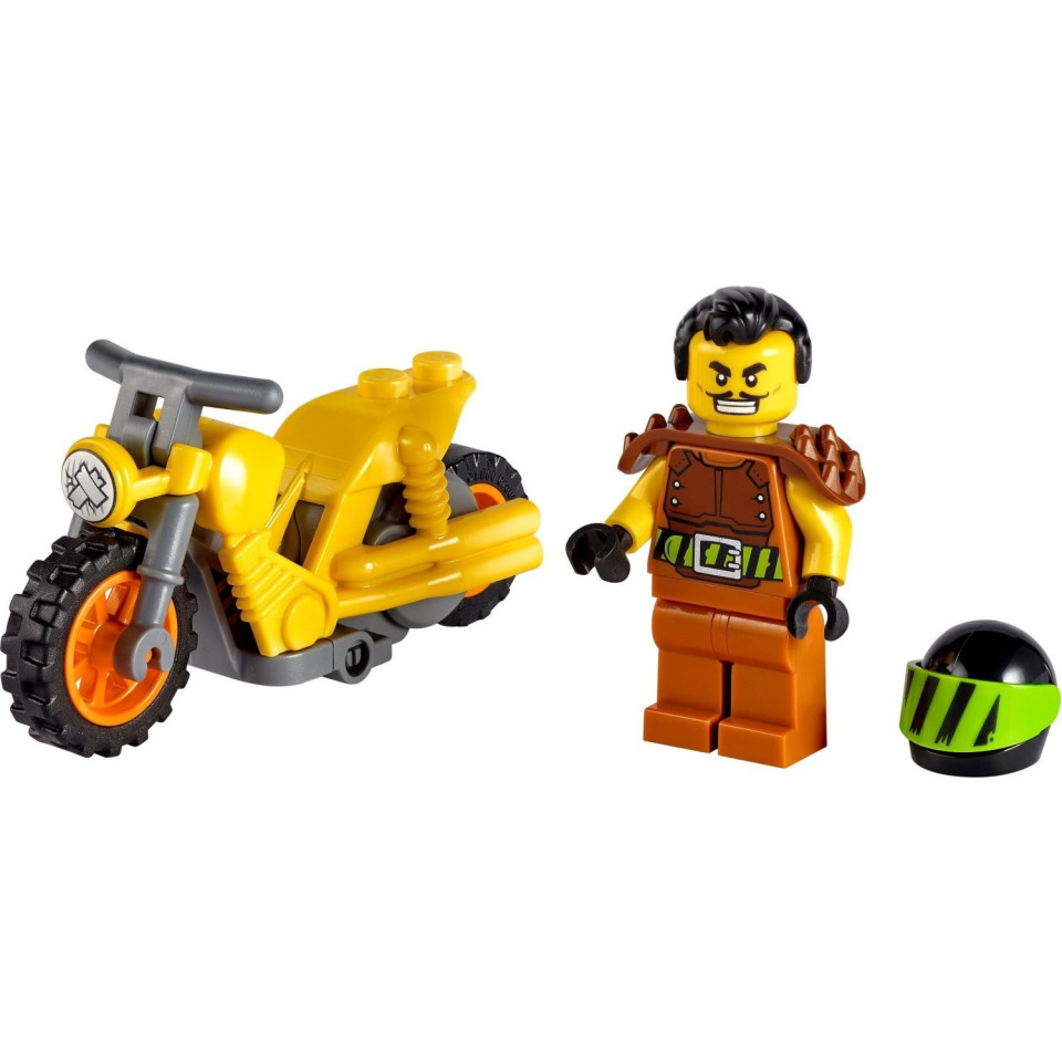 Obrázek 1 produktu LEGO CITY 60297 Demoliční kaskadérská motorka