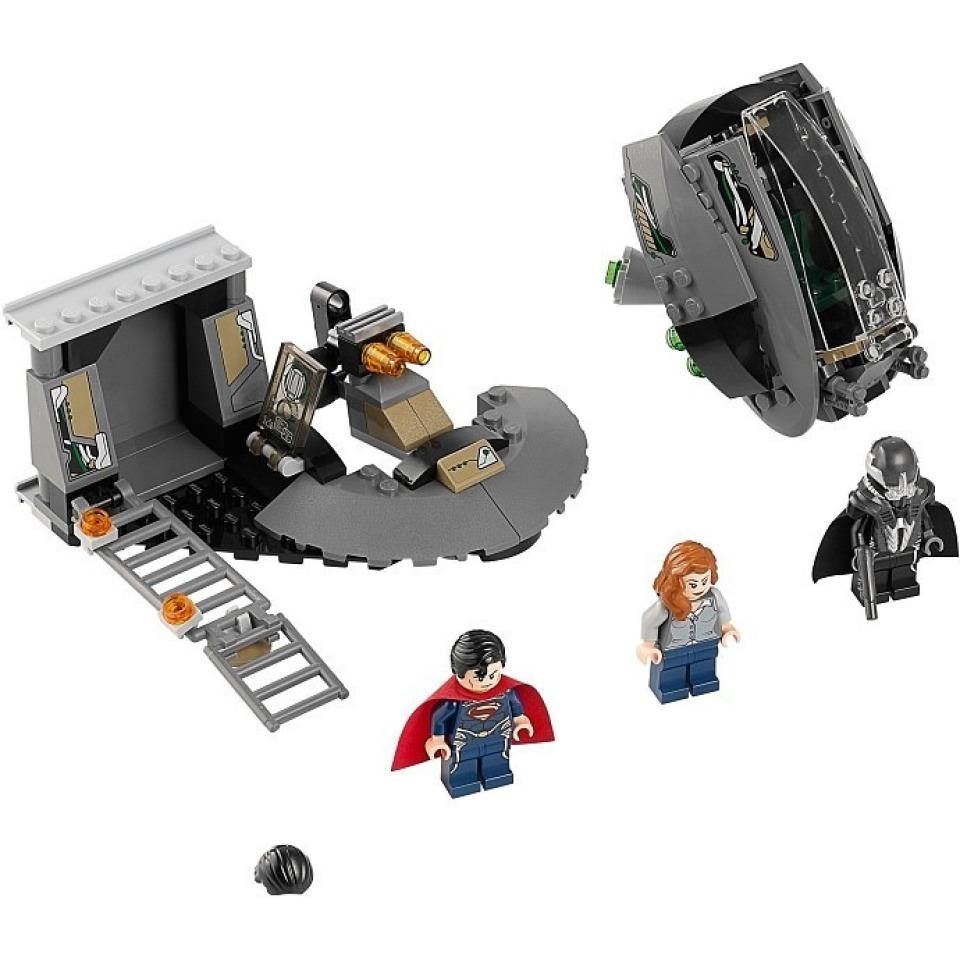 Obrázek 1 produktu LEGO Super Heroes 76009 SuperMan: Únik z Black Zero