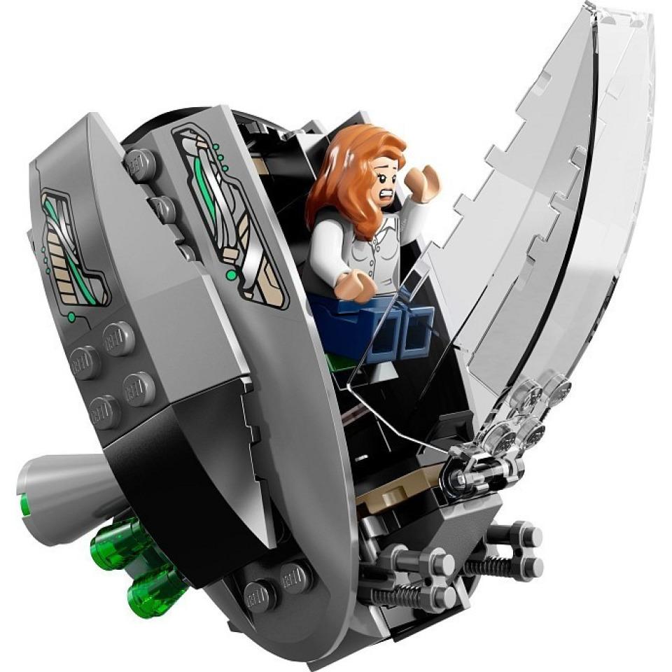 Obrázek 4 produktu LEGO Super Heroes 76009 SuperMan: Únik z Black Zero