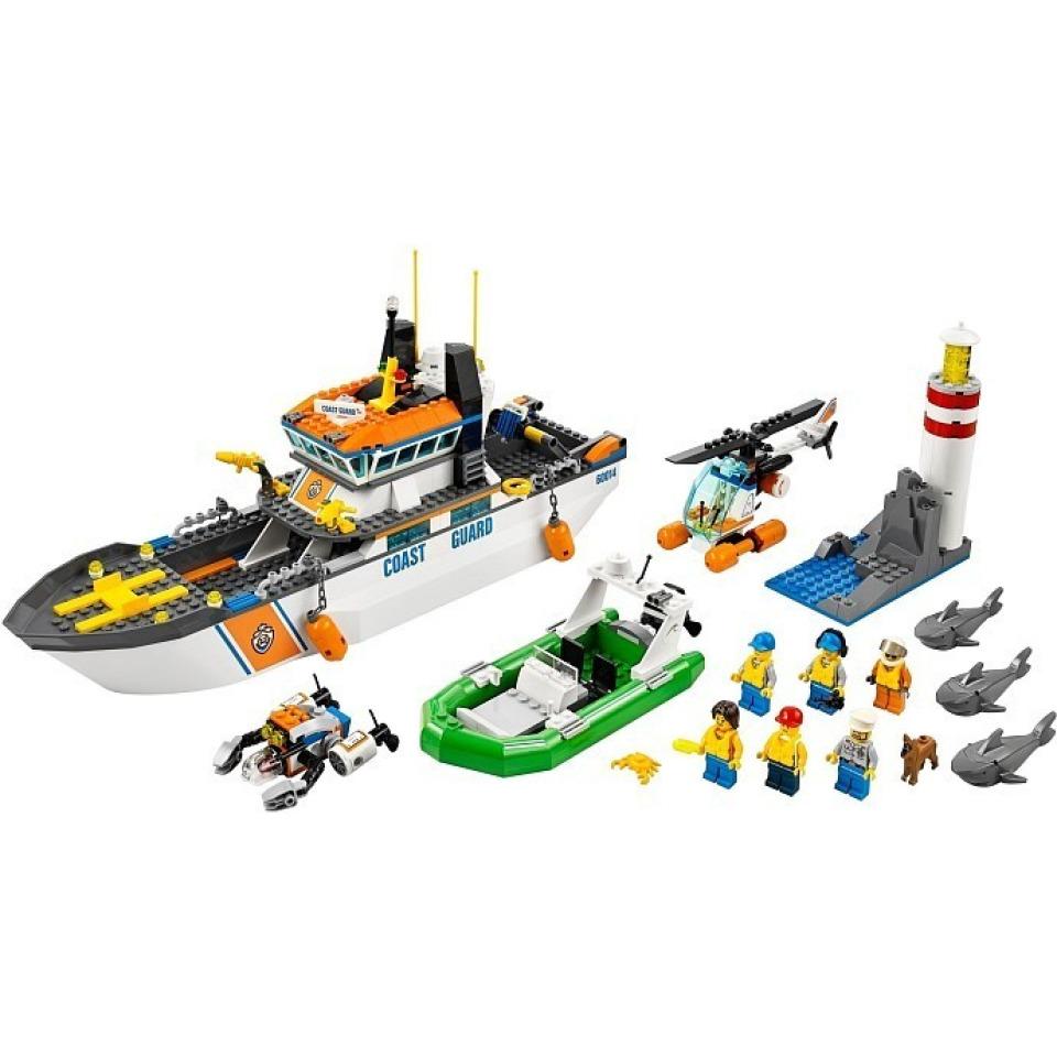 Obrázek 1 produktu LEGO CITY 60014 Pobřežní hlídka