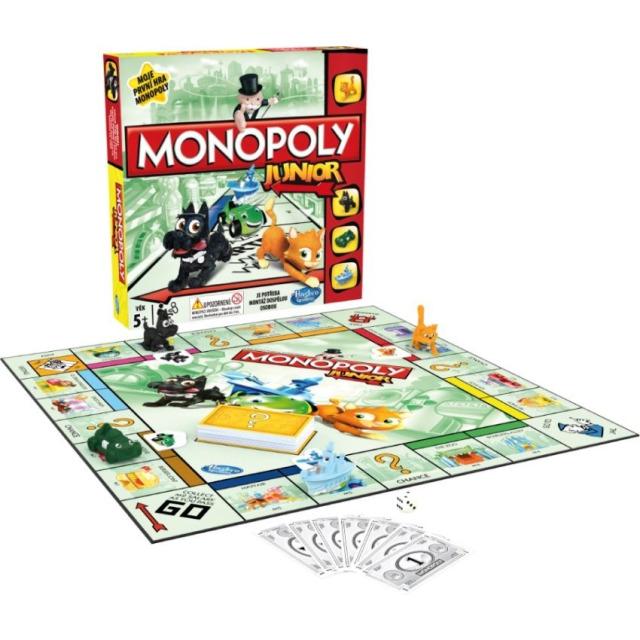 Obrázek produktu Monopoly Junior CZ