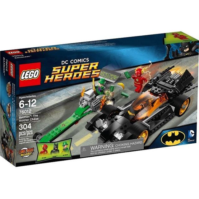 Obrázek produktu LEGO Super Heroes 76012 BatMan: Riddlerova honička
