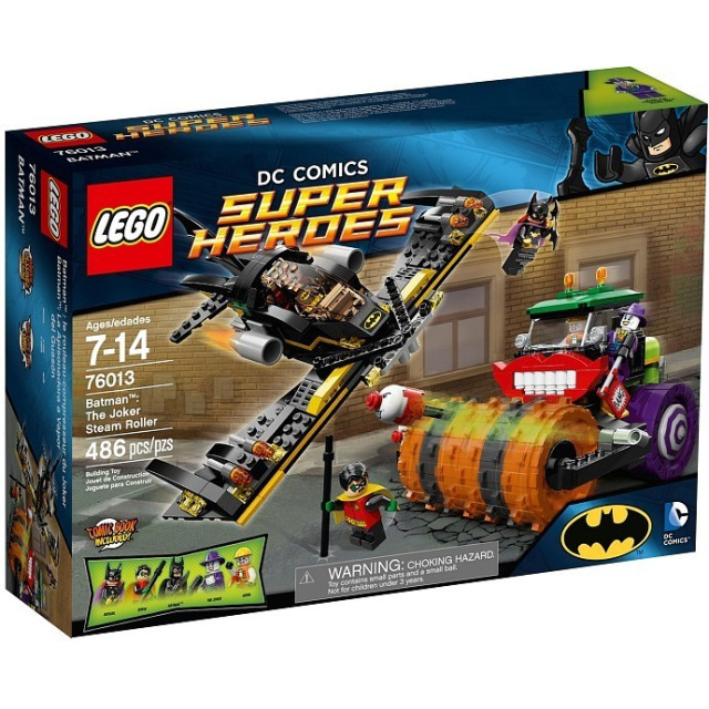 Obrázek produktu LEGO Super Heroes 76013 BatMan: Jokerův parní válec