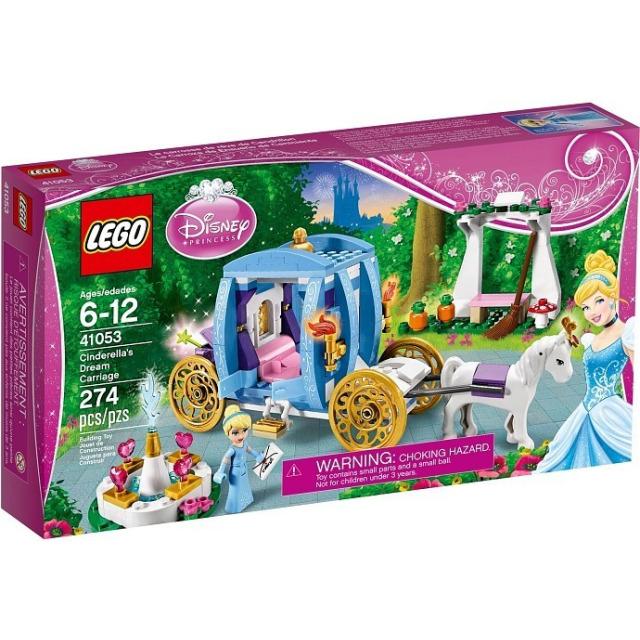 Obrázek produktu LEGO Disney 41053 Popelčin kouzelný kočár
